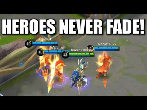 HEROES NEVER FADE IN THE NEW MIRROR MODE