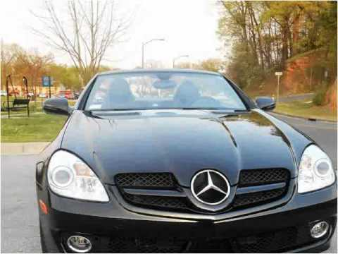 2009 Mercedes Benz SLK Used Cars Northwest Arkansas AR
