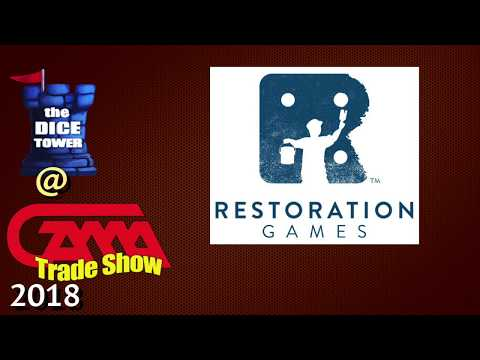 Restoration Games presents Down Force: Danger Circuit and Dinosaur Tea Party at GAMA 2018!