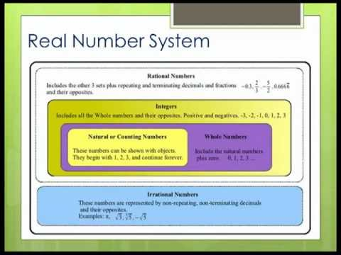 Real Number System