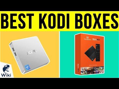 10 Best Kodi Boxes 2019