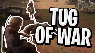 Tug of War Mini Game In Red Dead Online!