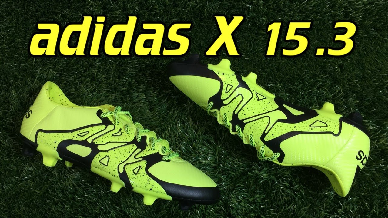 adidas x 15.3 review