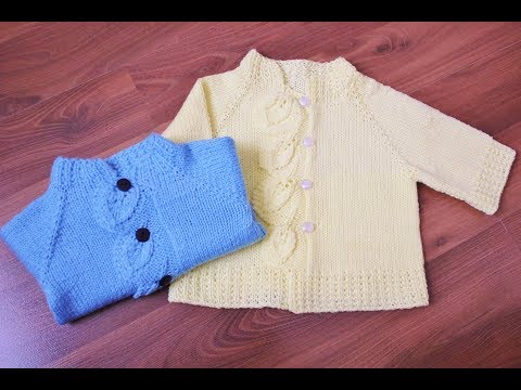 How to knit the Leafy Cardigan Sweater
