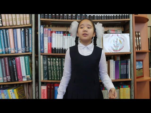 Изображение предпросмотра прочтения – ИраРоманова читает отрывок изпроизведения «Школьник» Н.А.Некрасова