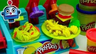 Play-Doh Hamburguesería Burguer Builder - Juguetes de Play-Doh