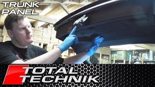 How to Remove Tailgate Boot Main Trim Panel - Audi A4 S4 RS4 (B6 B7) - Avant Estate - TOTAL TECHNIK
