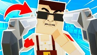 PAINT THE TOWN RED *SECRET BOSS* IN VIRTUAL REALITY (KungFu Town VR HTC Vive Funny Gameplay)