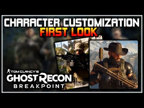 Ghost Recon Breakpoint | FIRST LOOK at Character Customization