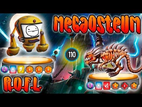 Monster Legends - Megaosteum Y R.O.F.L. [NIVEL 110] - COMBATES EN PVP.