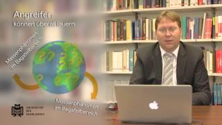 Prof. Dr. Mansdörfer: Industrie 4.0 und die Gefahren durch Cybercrime