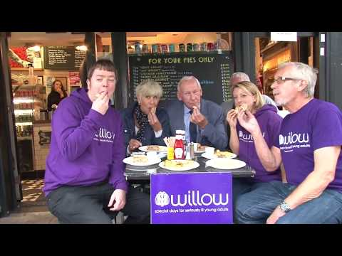 Bob Wilson And Willow Foundation Sign For Piebury Corner