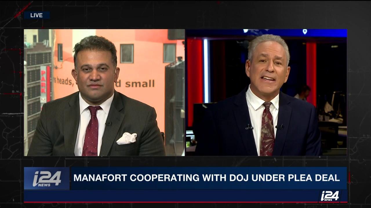 i24 News: Manafort's Plea Deal and Implications for Trump