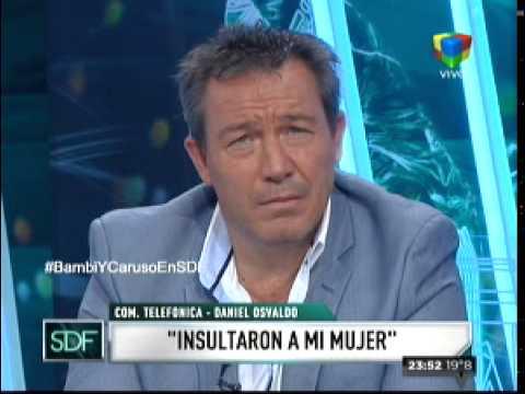 Daniel Osvaldo habló de la pelea con Desábato