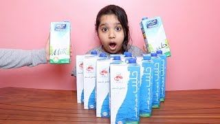 تحدي لا تختار حليب السلايم الخاطئ !!! Don't Choose the Wrong milk Slime Challenge