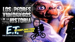 Los Peores Videojuegos de la Historia: E.T. Interplanetary Mission