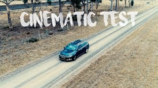 DJI Phantom 4 Pro Cinematic Test - Volkswagen Passat