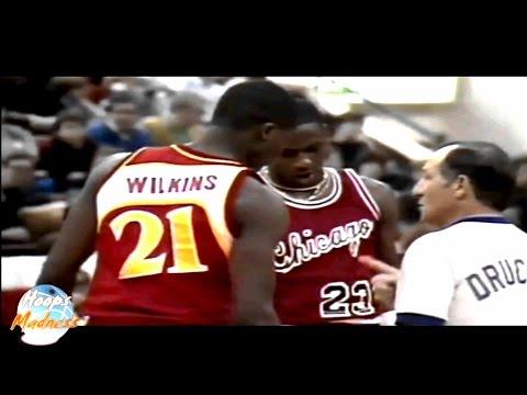 Michael Jordan vs Dominique Wilkins - 1985 Slam Dunk Contest