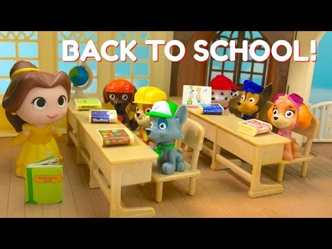 Go Back to School with Paw Patrol  First Day Teacher Princess Belle