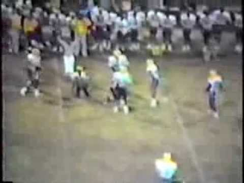 Covington High School Football Highlights 1987 Part 2