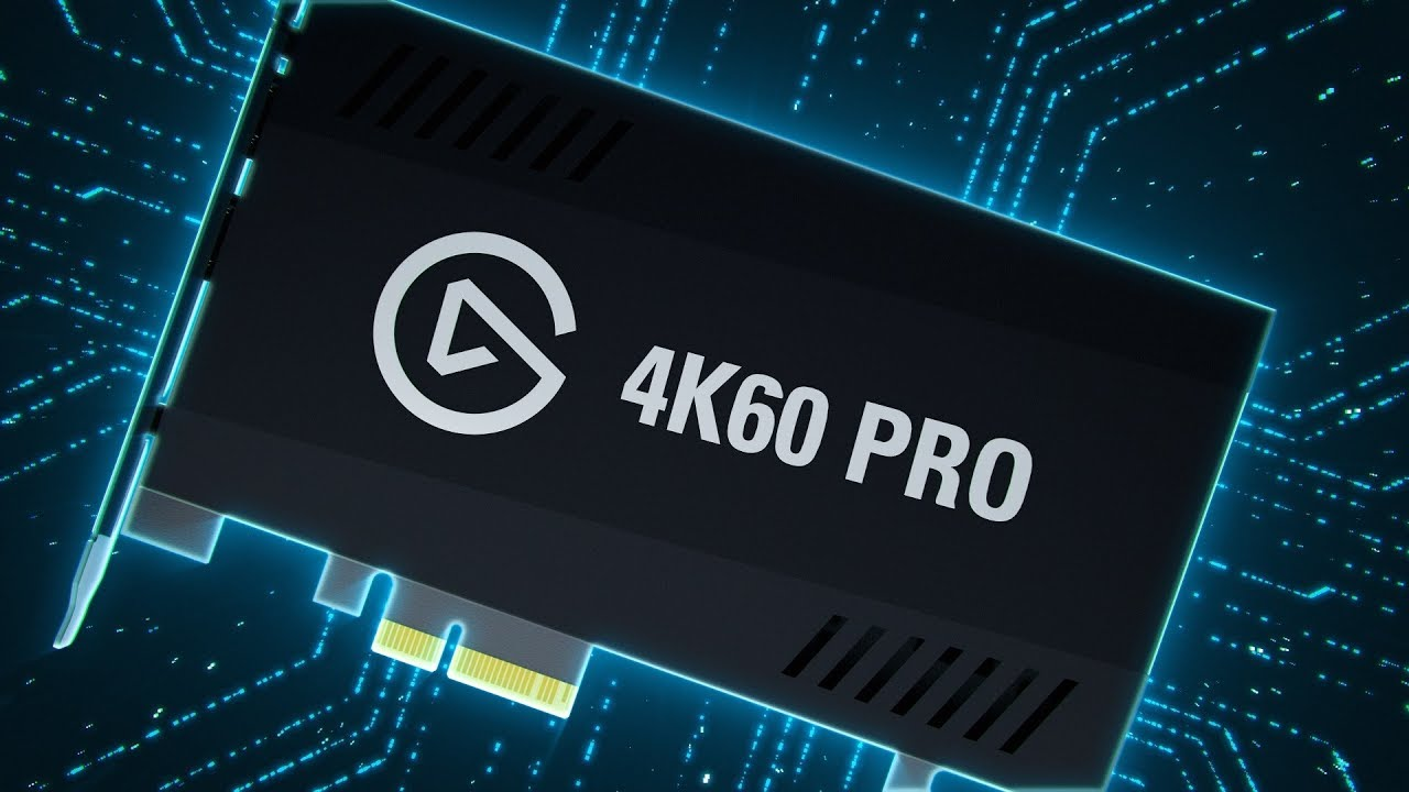 Elgato's 4K60 Pro capture card is for serious content