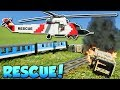 LEGO RESCUE CHALLENGE! - Brick Rigs Gameplay - Multiplayer Rescue Challenge