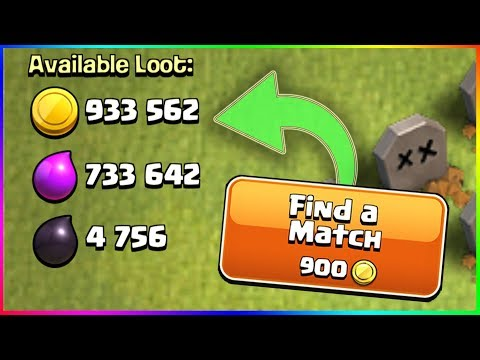1 Click = 1 Million? ▶️ Clash of Clans ◀️ YOU BLINK YOU LOSE IT