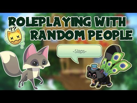 ROLEPLAYING WITH RANDOM PEOPLE IN ANIMAL JAM?!?