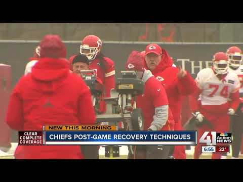 How the Chiefs prepare and recover during the extended season
