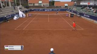 Krunic vs Tomova lawn tennis