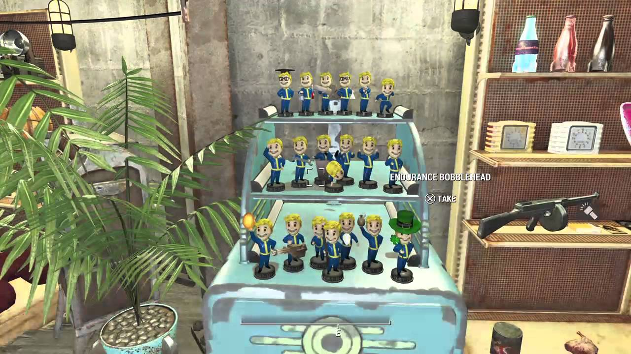 Fallout 4 My Rare Item Collection At Diamond City Home