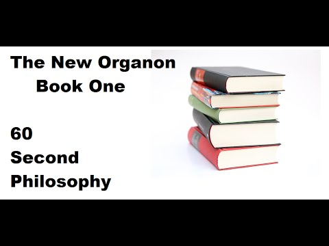 The New Organon Book One