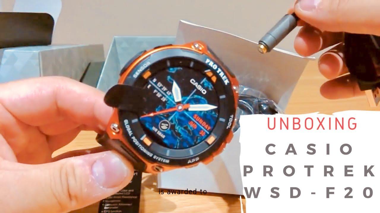 Casio Protrek Wsd F20 On Ios Part 1 Youtube
