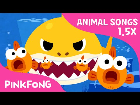 FASTER Version of Baby Shark | Faster and Faster! | Animal Songs | PINKFONG Songs for Children Mp3