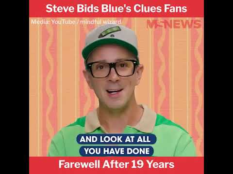 Steve from 'Blue's Clues' leaves inspiring message to show's grown ...