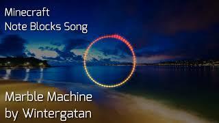 The Marble Machine | Wintergatan -- Minecraft Noteblocks song