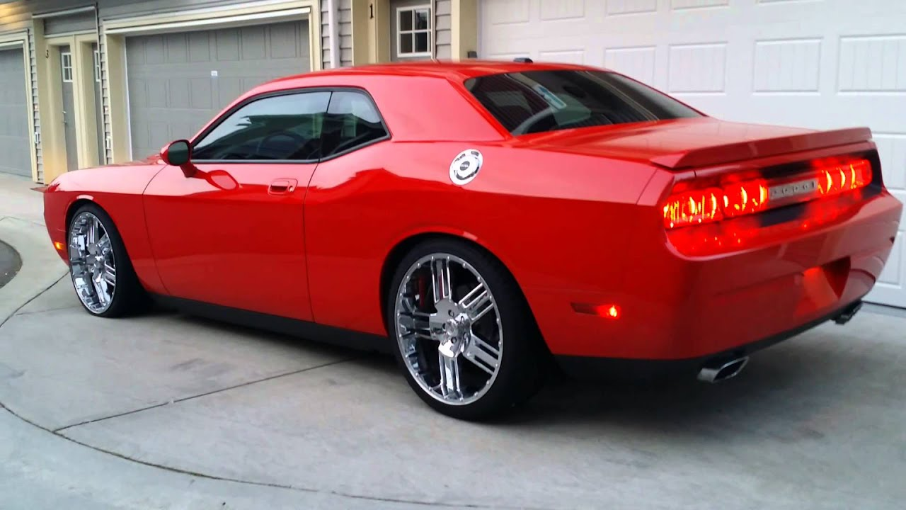 2010 Dodge Challenger Lowered Rt Youtube