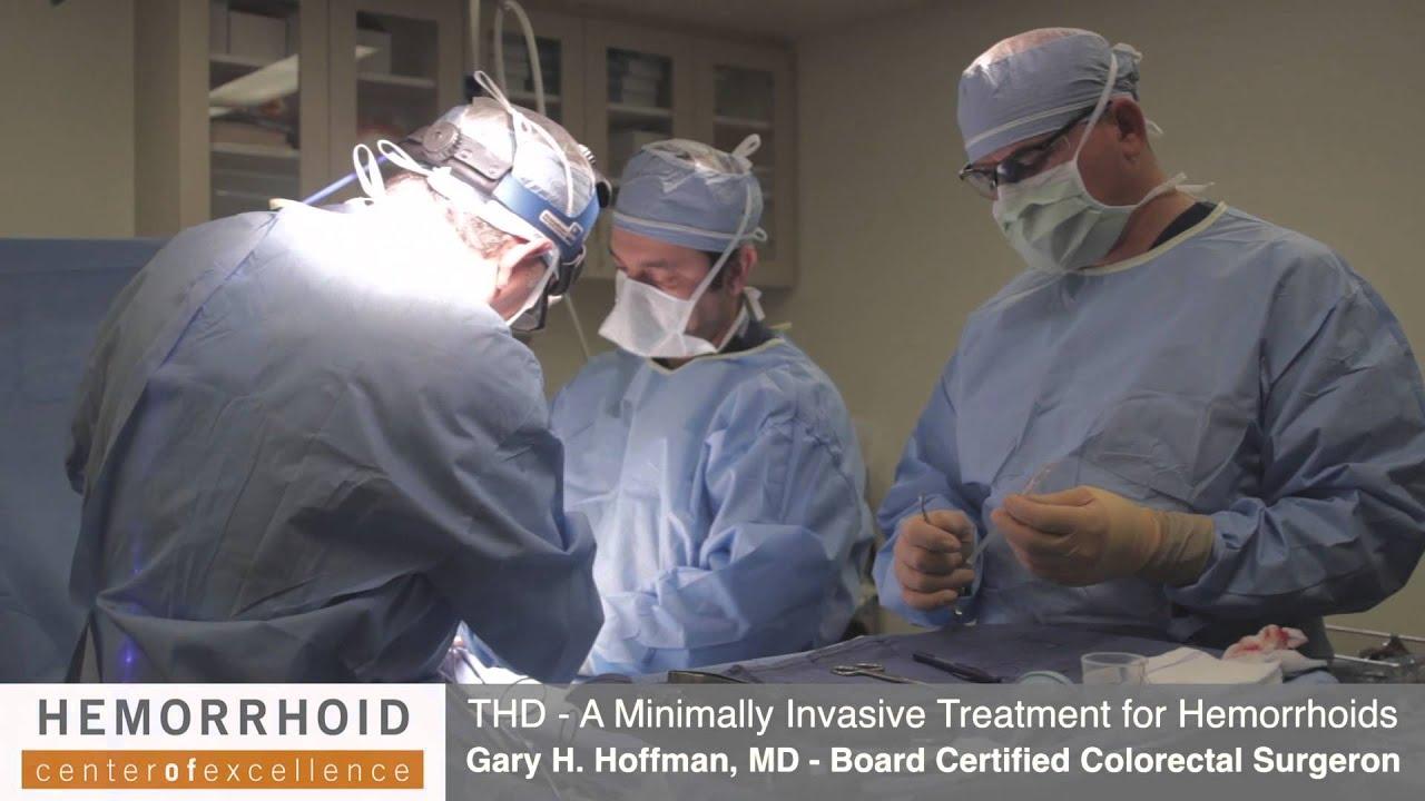 Download Transanal Hemorrhoidal Dearterialization (THD) - Hemorrhoid Treatment Los Angeles