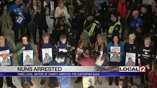Three Sisters of Charity Arrested Praying for Dreamers