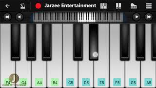 Jitni Dafa (Parmanu) | Yasser Desai, John Abraham | Easy Mobile Piano Tutorial