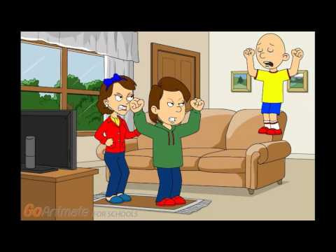 Caillou Changes The Printer/Grounded