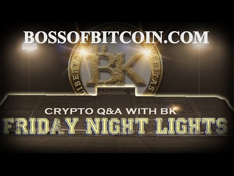Live Cryptocurrency Q&A with BK! ⚡ Free Bitcoin Prediction 2018    litecoin cryptocurrency news eth