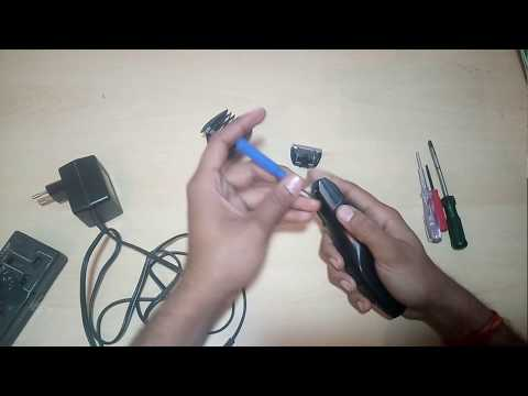 how to clean a trimmer, open,oiling etc. part 1