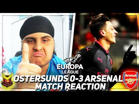 PLAY EDDIE NKETIAH!!! (Bhav) | FC Ostersunds 0-3 Arsenal | 💥AFTV YOUNG GUNZ💥