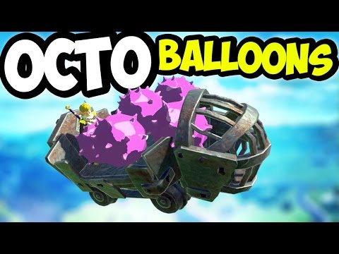 Octo Ballooning to the Highest Altitude - Breath of the Wild