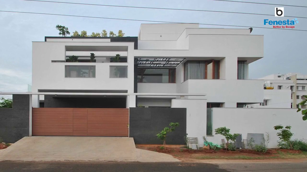 pannerselvam house in erode by murali architects youtube