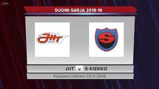 JHT - S-Kiekko 03.11.2018 maalikooste