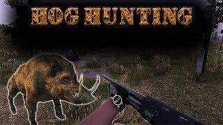Will to live online Hog Hunting Shotgun + Sks