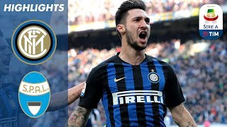 Inter 2-0 SPAL | Gagliardini Helps Hosts Cement Top 4 Spot | Serie A