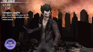 Injustice Gods Among Us iOS Arkham Origins The Joker Full Standard Difficulty(Elgato was messing up during the first three fights of the challenge,. apologize for the minor issue, Racist commentary in the second battle for all challenges in ..., 2015-06-05T14:15:44.000Z)